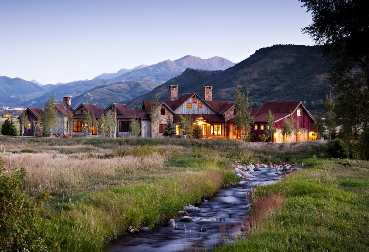 apen valley ranch custom home