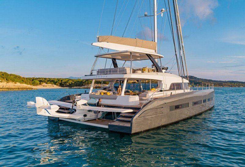 Lagoon Seventy7 Catamaran Leads The Fleet With Space And Grace