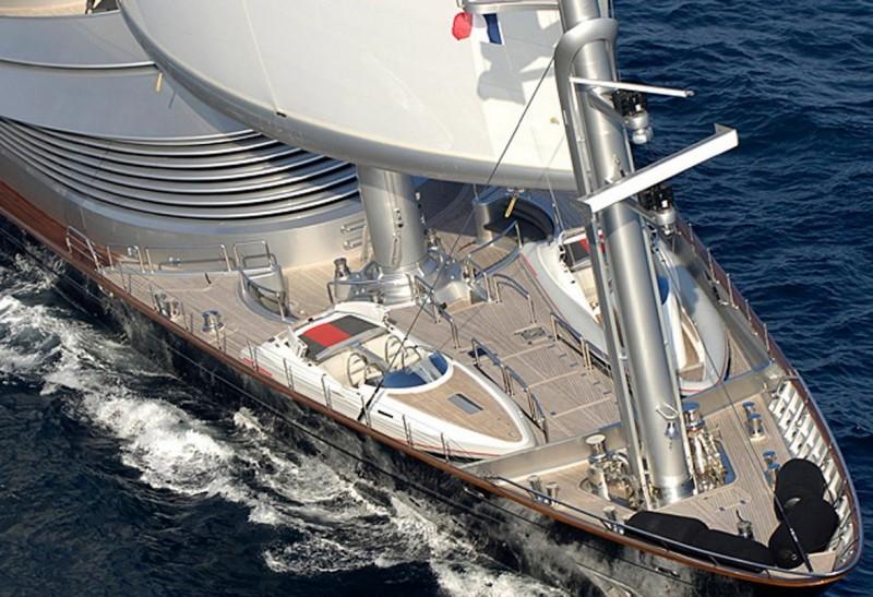 Luxury Yacht Lower Deck