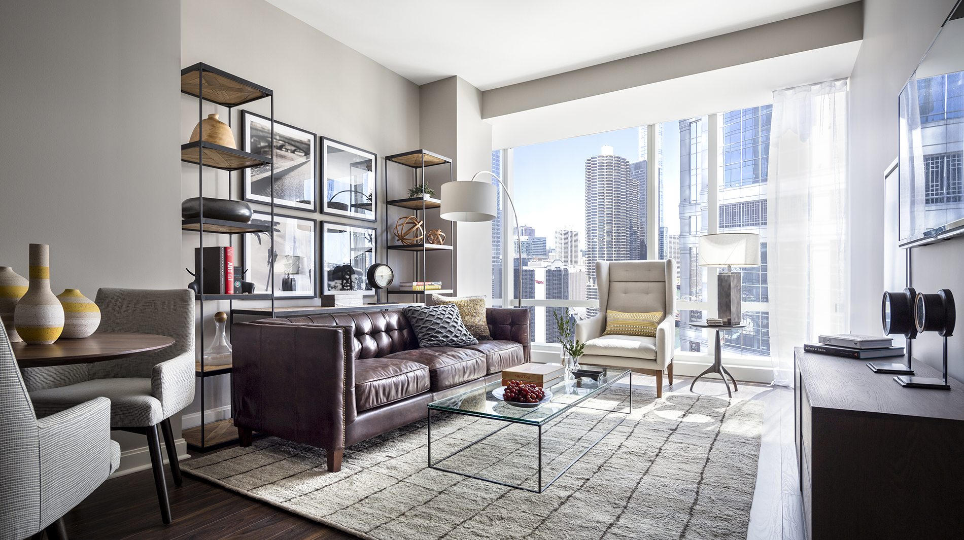 If your small living room is cramped, the last thing you want to do is hang out there. 3 Apartment Living Room Decorating Ideas - Luxury Living