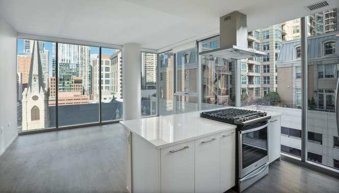 A Junior One Bedroom In River North Luxury Living Chicago