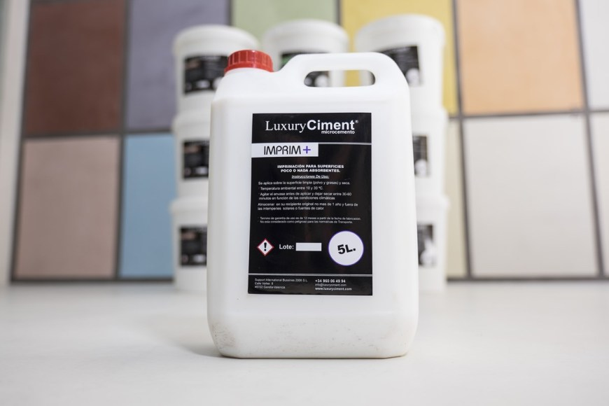 imprim + imprimacion para aplicar microcemento Luxury Ciment