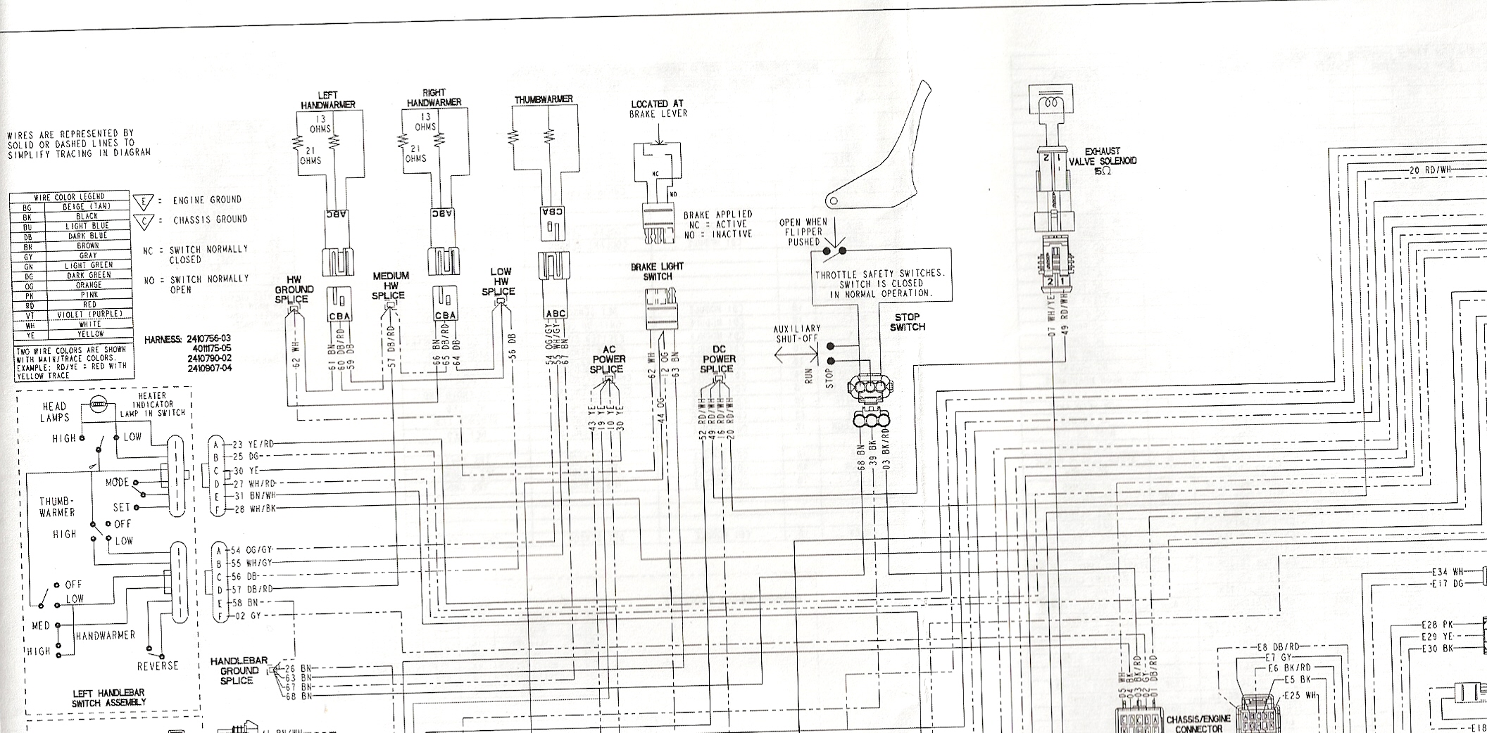 Polaris Sportsman 600 Twin Wiring Diagram