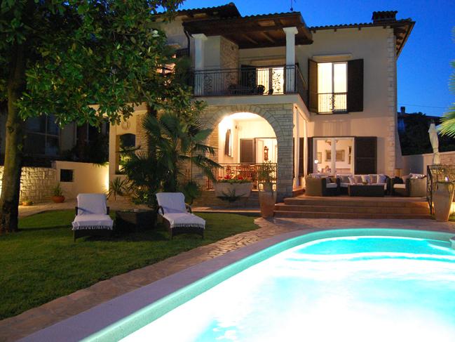 Villa Rental With Pool In Umag Croatia Villas In Istria
