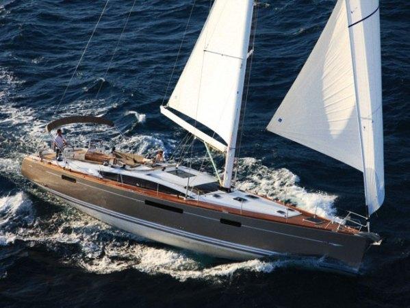Jeanneau 57 - a luxury sailing yacht