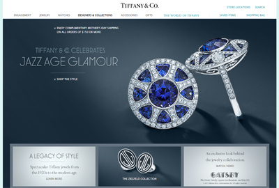 Tiffany Touts 20s Inspired Jewelry Lines As The Great