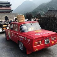 Loro Piana's car for the Beijing-Paris race