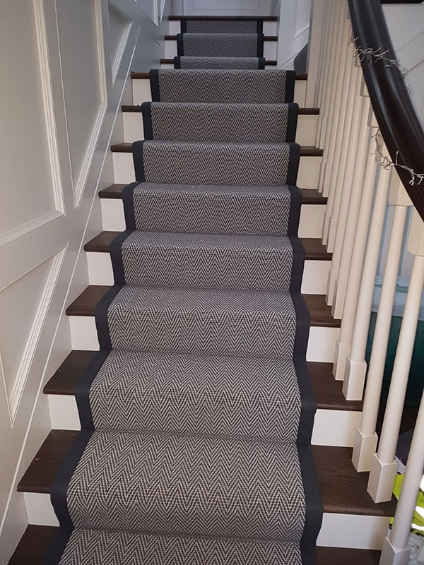 Carpets And Stair Runners Luxury Design Floors | Herringbone Carpet For Stairs | High Traffic | Textured | Classical Design | Striped | Carpet Stair Treads