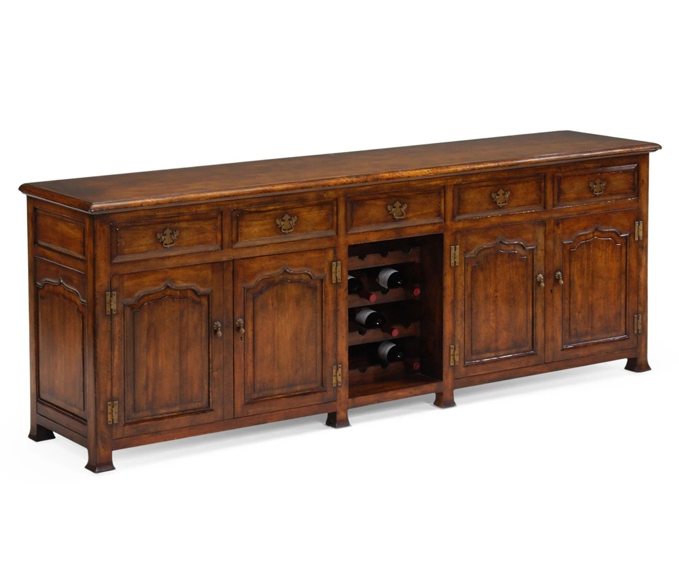 buffet with wine country farmhouse jonathan charles on country farmhouse furniture id=29919