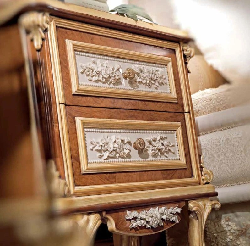 Bedside Table Made From Natural Wood Jumbo Collection Luxury Furniture Mr
