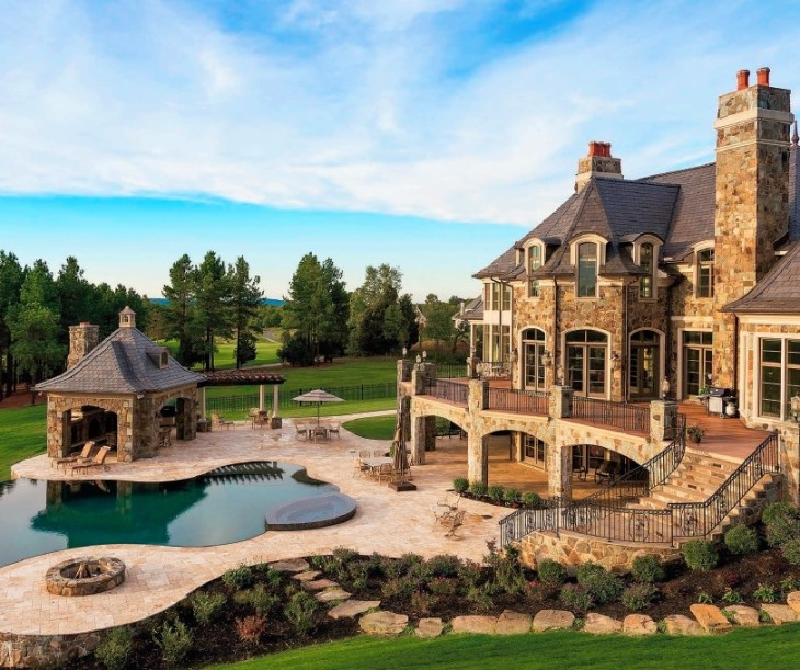 Luxury Farm Homes: Creighton Farms: The Most Extraordinary Homes Tour You'll