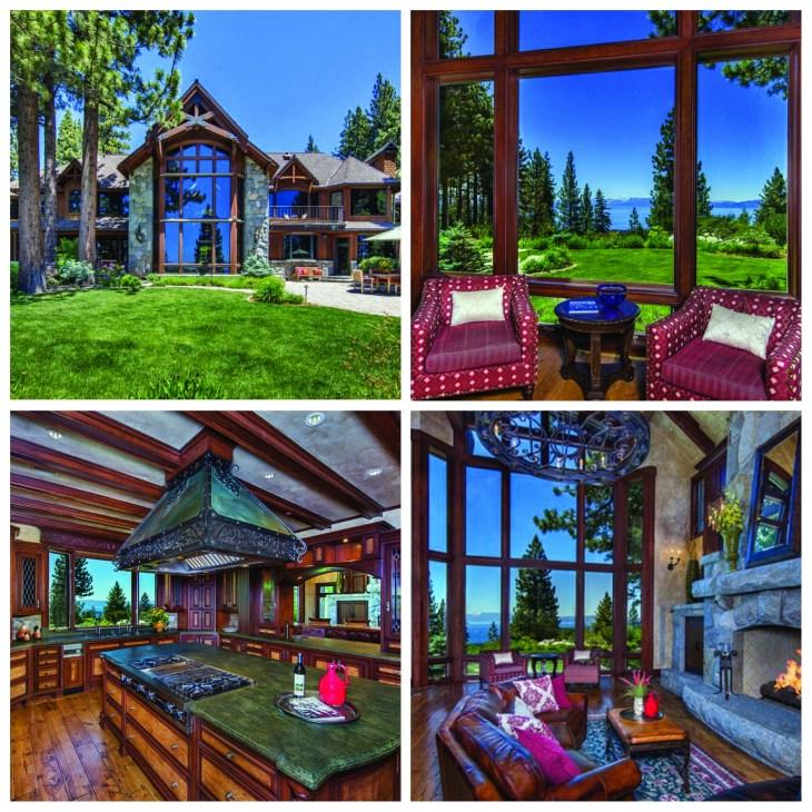 Lake Tahoe Luxury Homes: Hidden Waters Lake Tahoe, Private Gated Estate In Incline