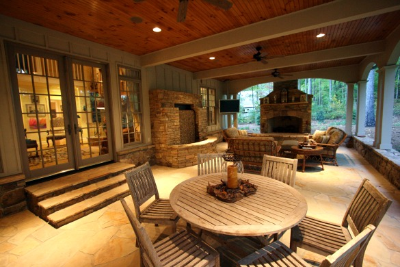Elegant custom luxury home on over 14 acres in West ... on Fancy Outdoor Living id=20389