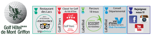 logo golf hôtel de mont griffon