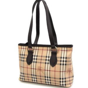 Burberry Nova Check Haymarket Regent Tote Bag