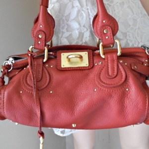 Chloe Paddington Leather Satchel