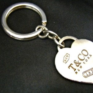 Tiffany & Co Heart Tag Key Ring