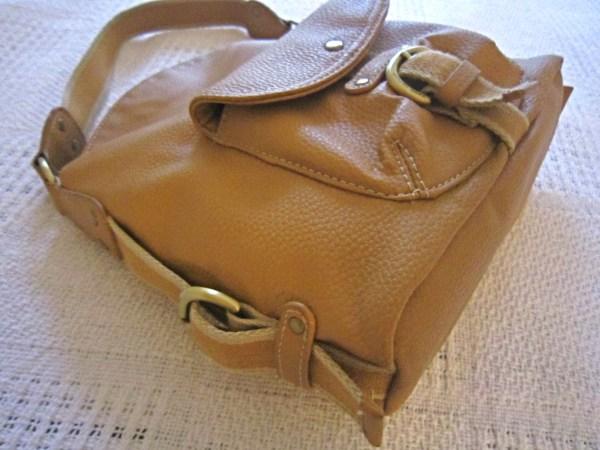 Tommy Hilfiger Mustard Leather Hobo Bag-1