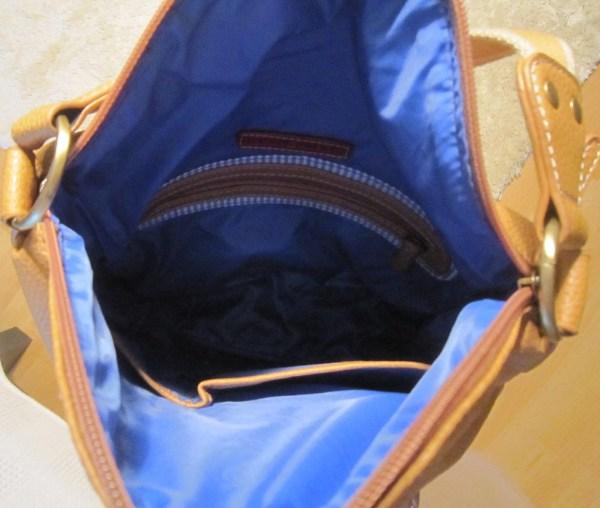 Tommy Hilfiger Mustard Leather Hobo Bag-5