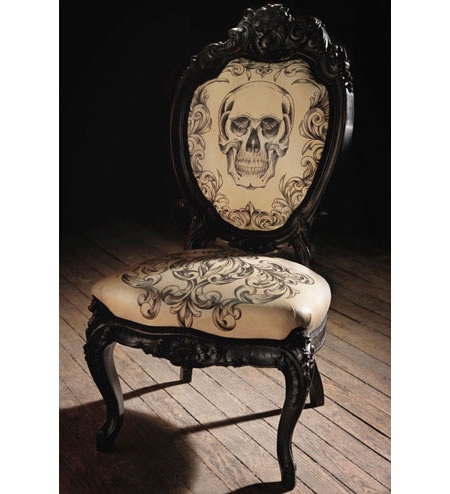 tattooed-chair-1.jpg If you live a Goth way of life, then it's implied that