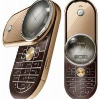 Um Motorola Aura banhado a ouro é luxo puro