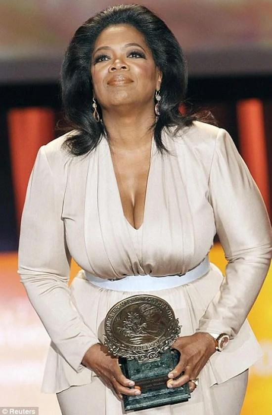 Oprah Winfrey Flaunts Victoria Beckham S Designs