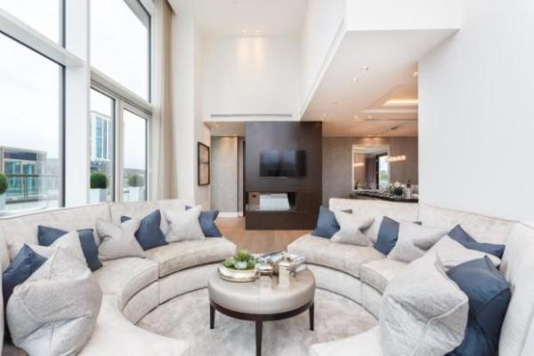 Trinity's location may make one of the best penthouses in London