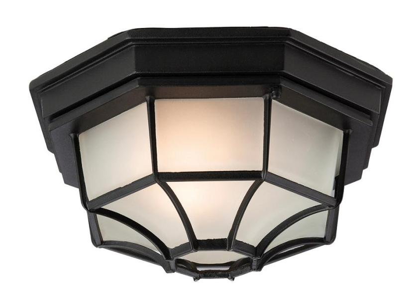 Firstlight Porch Light   Firstlight Lighting F609BK Exterior Flush     Flush Exterior Porch Light   Firstlight Lighting
