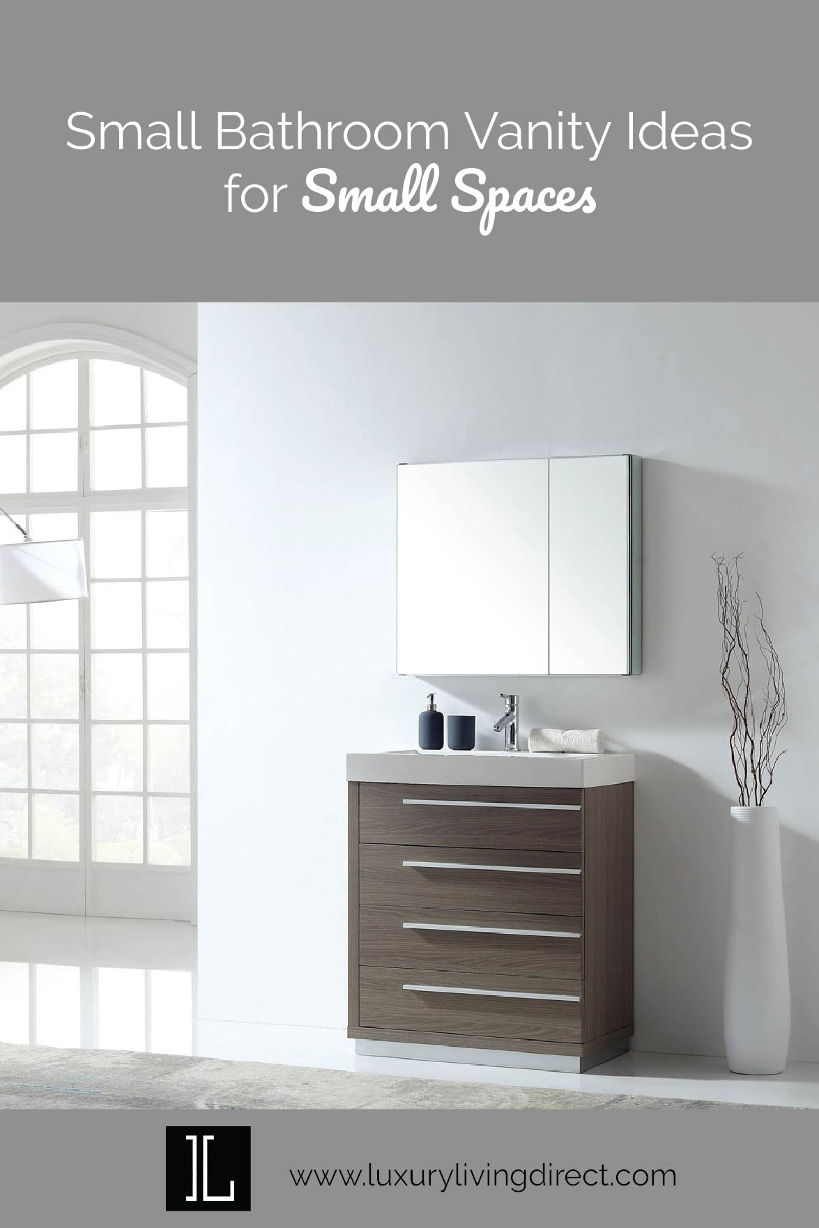 Small Bathroom Vanity Ideas for Small Spaces - Luxury ... on Bathroom Ideas Small Spaces  id=81288
