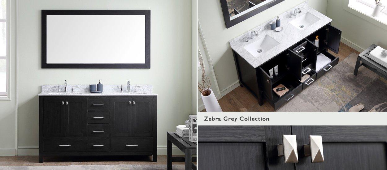 shop 56 inch bathroom vanities