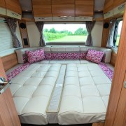 Bailey Approach Autograph 765 6 Berth - Bed