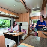 Bailey Approach Autograph 765 6 Berth - Cooking