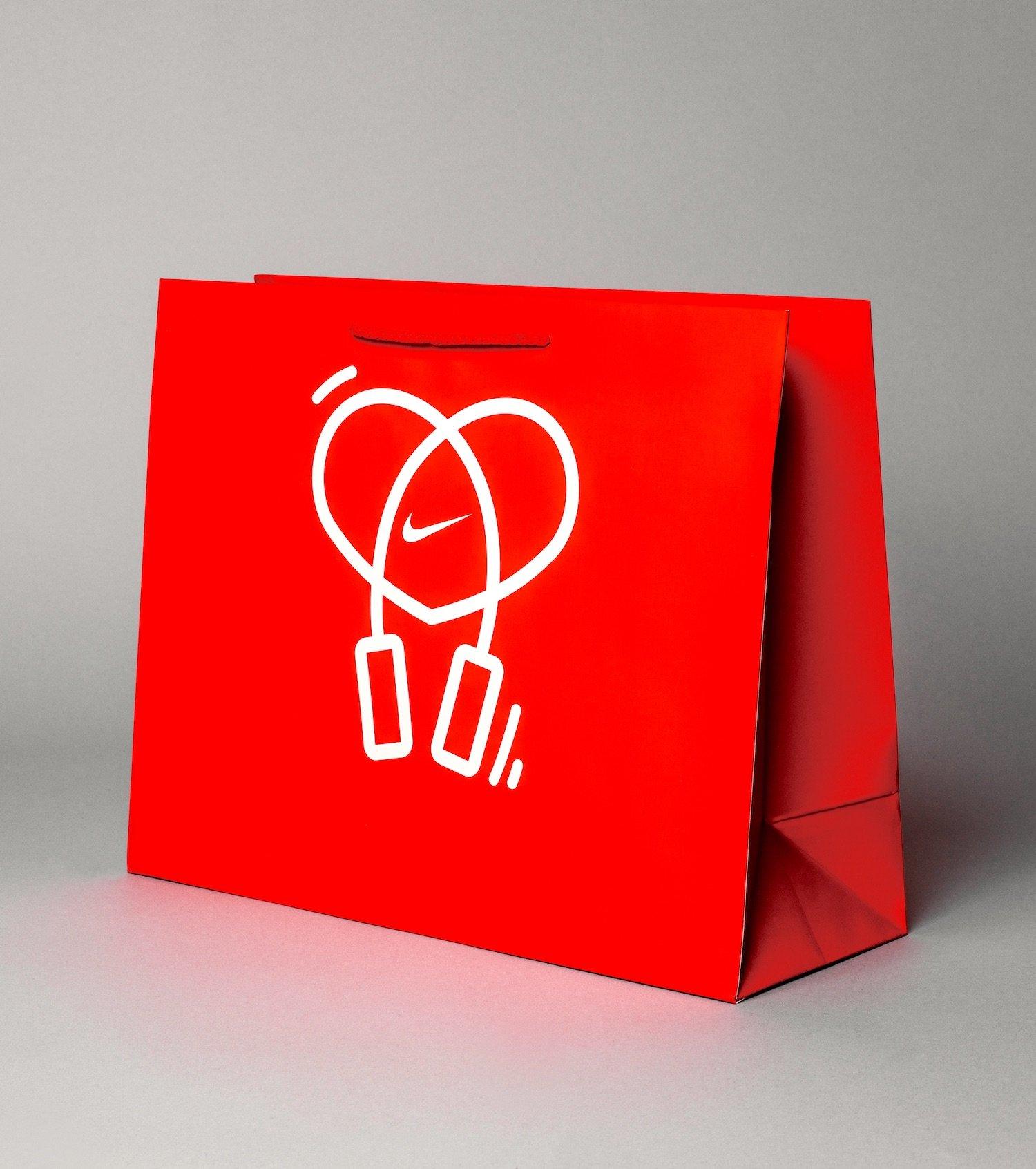 Nike Laminated Bag