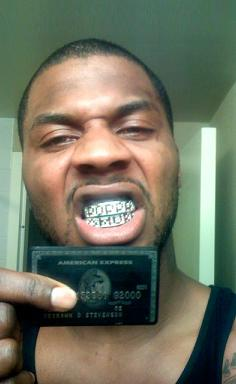 deshawn stevenson black card DeShawn Stevenson