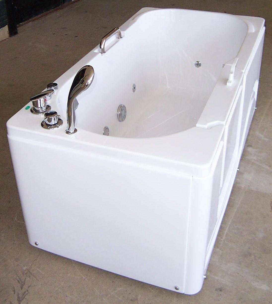 Luxury Spas And Whirlpool Bathtubs OW 9WO4 Walk In Tub