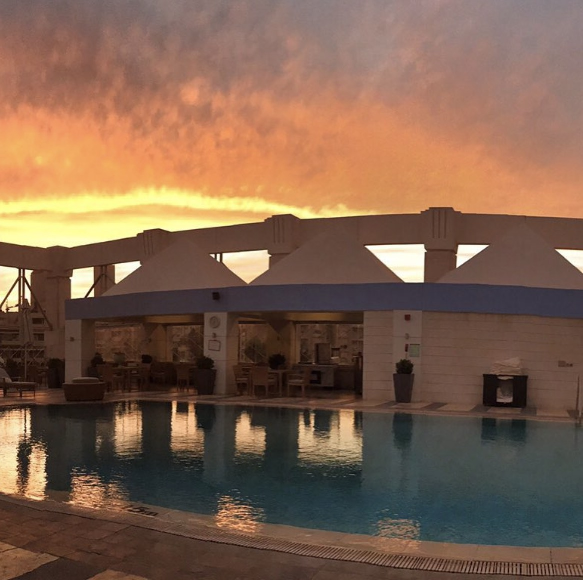 Amman Jordan Four Seasons Pool