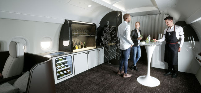 Four Seasons Jet Interior