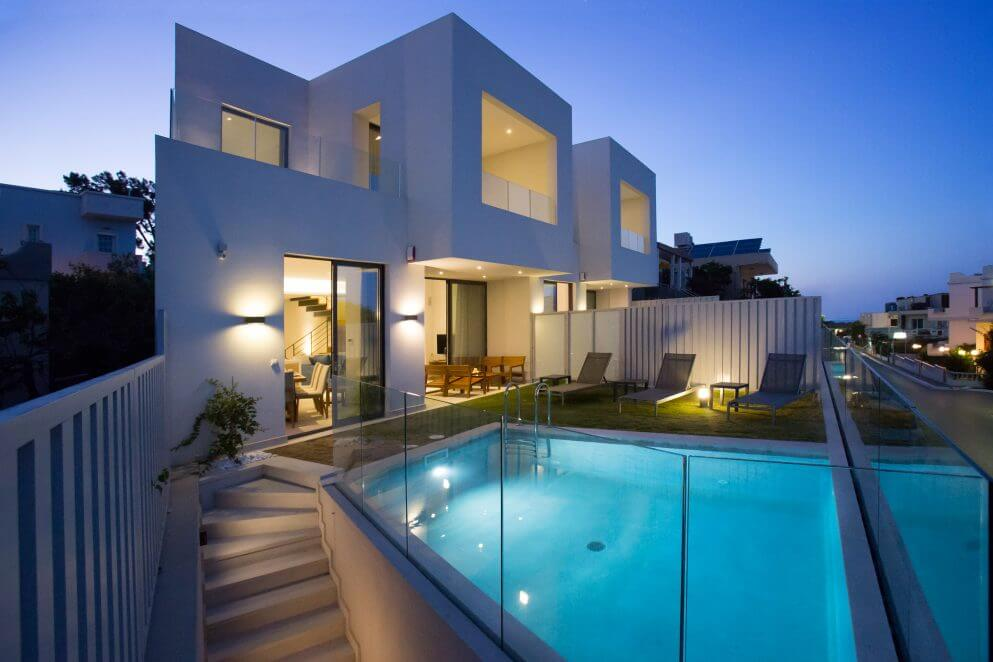 rent luxury villas in Chania Crete.