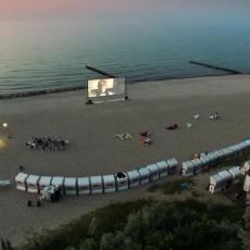 Filme gucken vom Strandkorb aus im Ostseebad Kühlungsborn