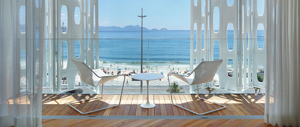 Abhängen in Rios luxuriösester Hängematte