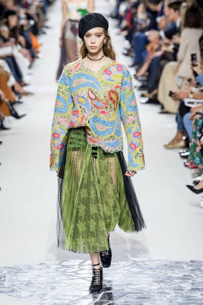 Paris Fashion Week  Dior Unveils The Spring Summer 2018 Collection Paris Fashion Week Dior Unveils The Spring Summer 2018 Collection 05 Paris Fashion  Week Paris Fashion