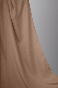 cotton hijab in beige