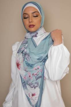 scarf georgette