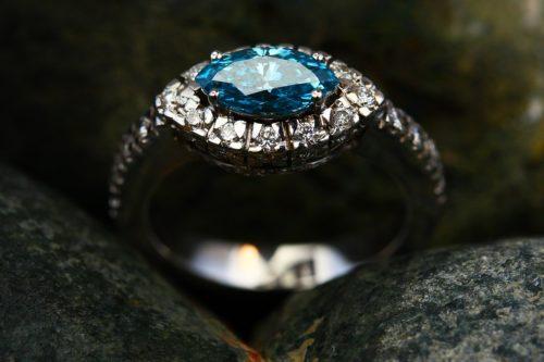 bague luxe, bague diamant