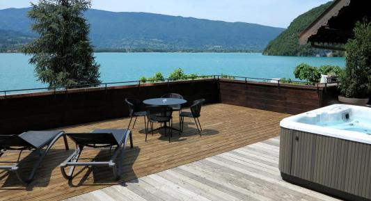 Auberge-du-pere-bise-hotel-luxe-annecy-talloires hôtel luxe Annecy