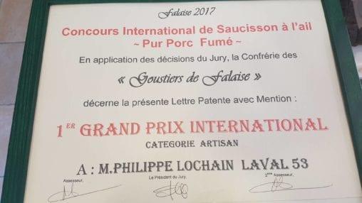 Boucherie saucisson Philippe Lauchain Laval