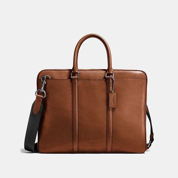 porte documents coach luxe cuir homme