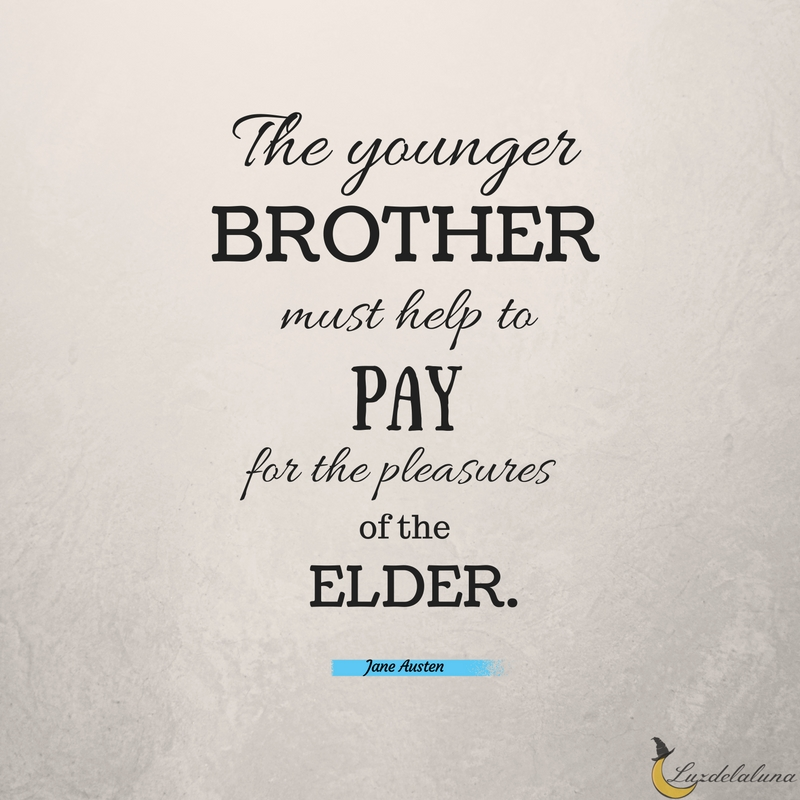 15 Awesome Brother Quotes | Luzdelaluna