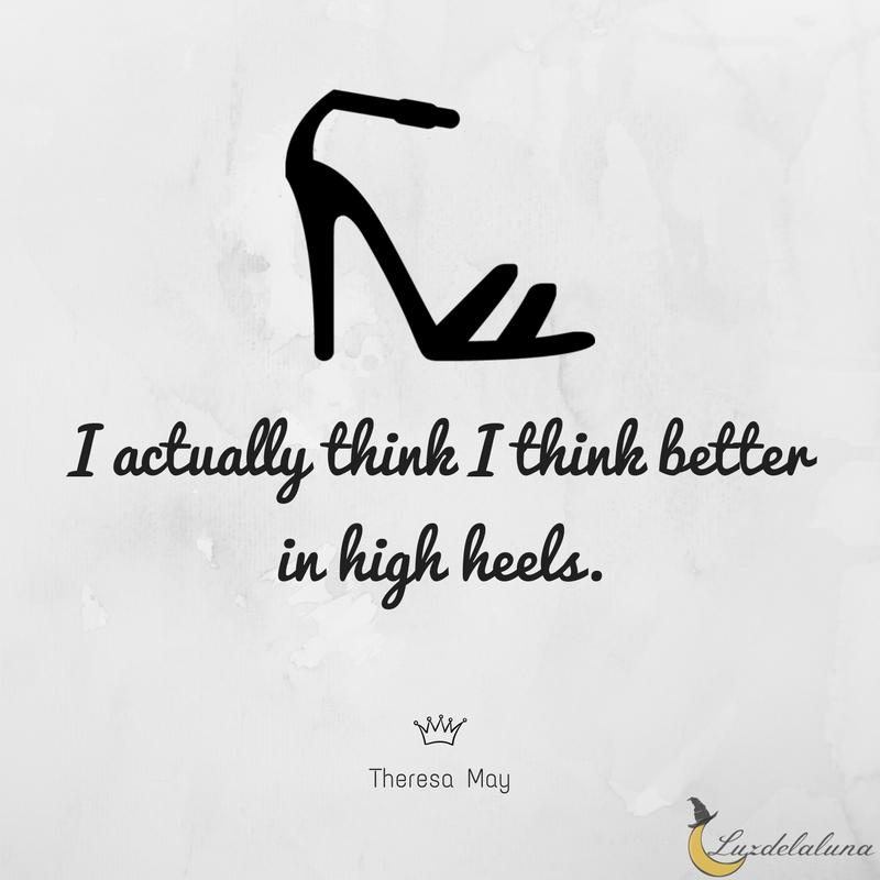 high heels quotes