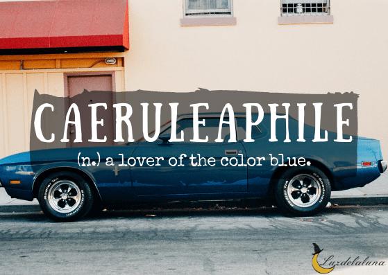 Caeruleaphile